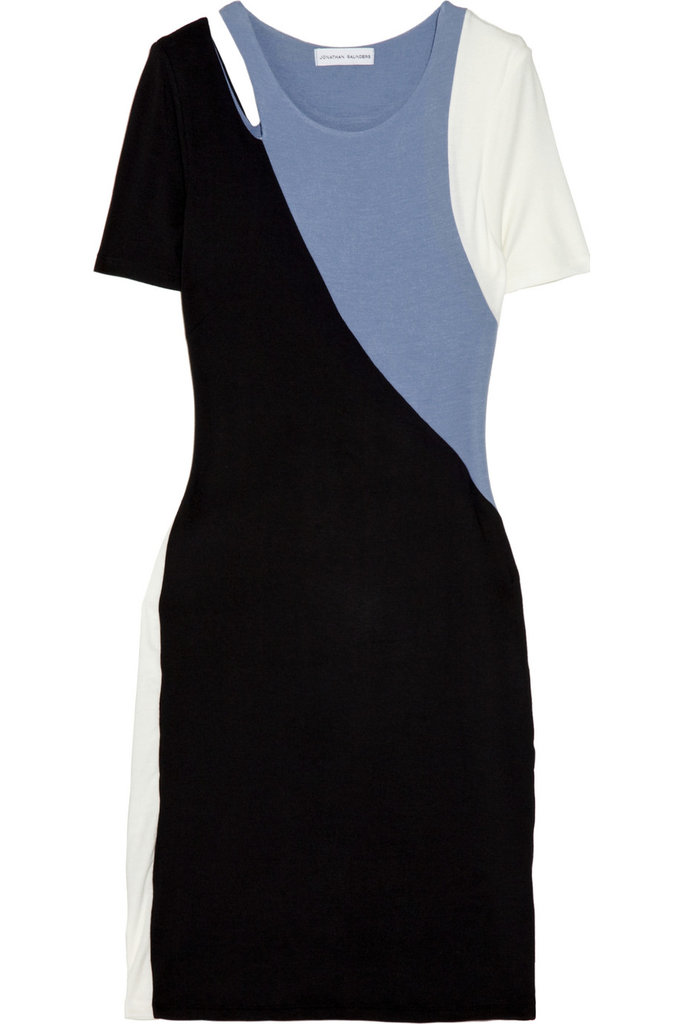 Jonathan Saunders Asymmetric Color-Block Jersey Dress ($178, originally $395)