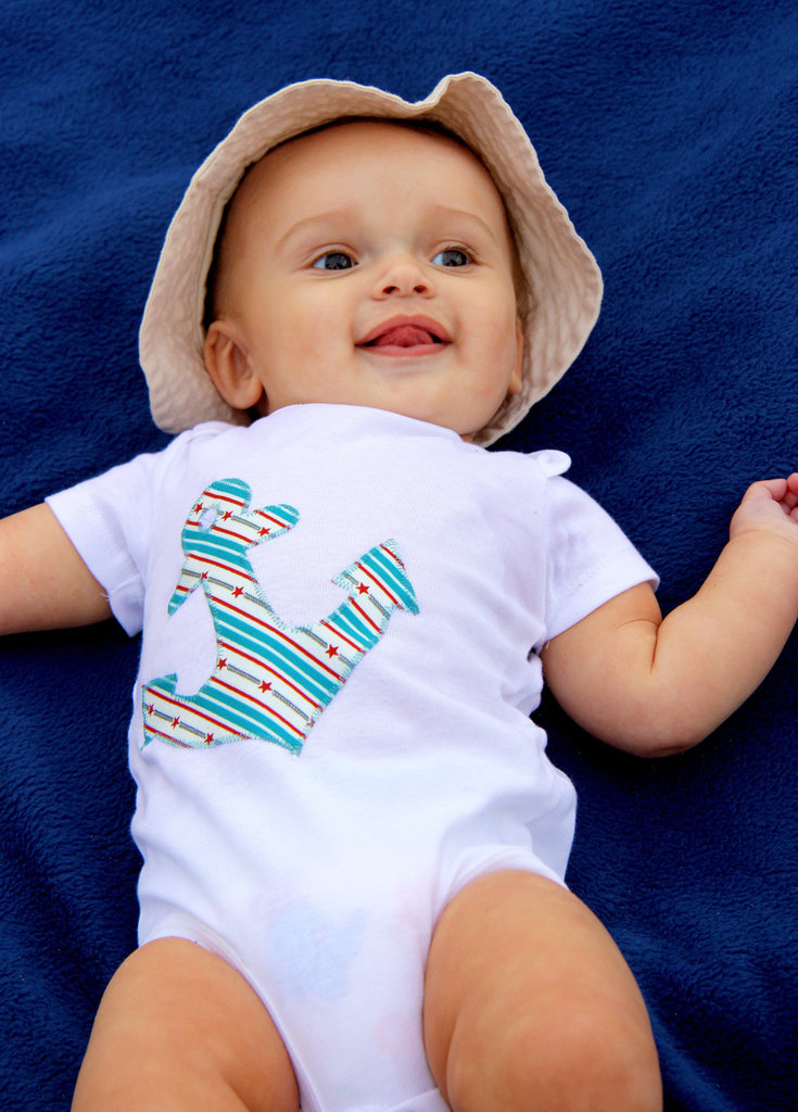 Ahoy Sailor Baby Bodysuit ($16)