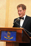 Prince Harry delivered a speech during a state dinner in Jamaica.