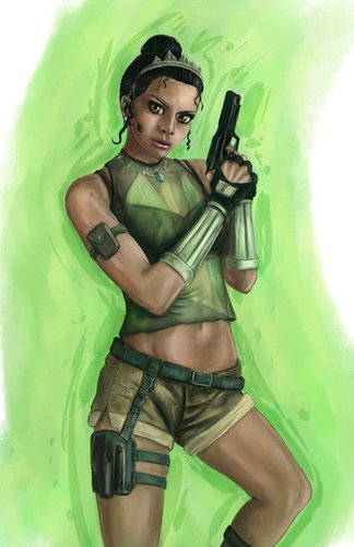 Fighter Tiana