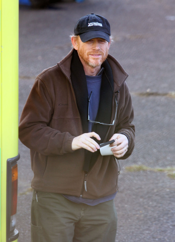 Ron Howard is working behind the lens on his latest film, Rush.