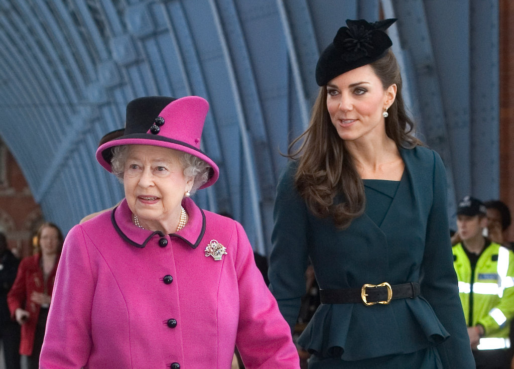 Kate Middleton and Queen Elizabeth headed to Leicester.