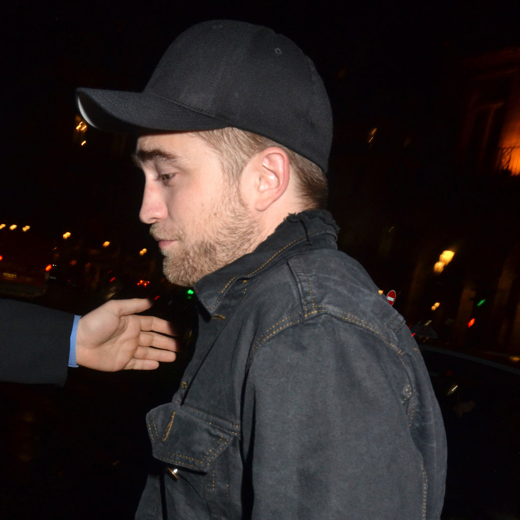 Robert Pattinson left the opening of the Museum of Decorative Arts in Paris' Louis Vuitton — Marc Jacobs: The Exhibition.