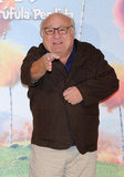 Danny DeVito doing press for The Lorax in Spain.