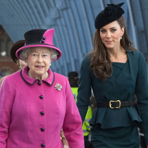Kate Middleton Pictures in Leicester With Queen and Prince