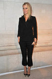 Gwyneth Paltrow wore a black tuxedo at the opening of Marc Jacobs's Louis Vuitton Exhibit in Paris in March 2012.