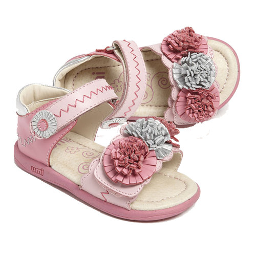 Floral Sandals For Little Girls