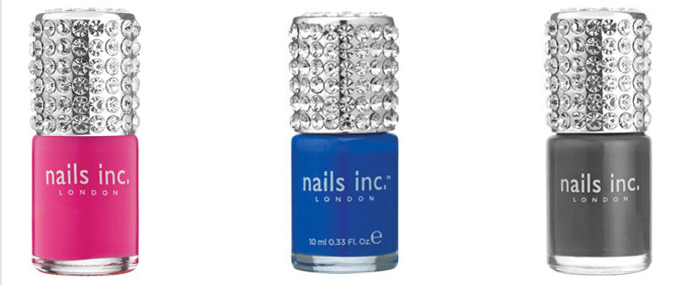 Nails Inc Limited Edition Shades With a Crystal Cap
