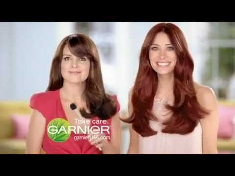 Tina Fey For Garnier Nutrisse Mousse Hair Colour