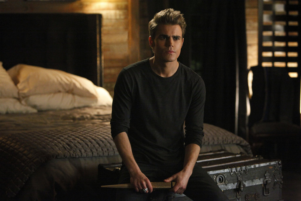 Paul Wesley as Stefan in The Vampire Diaries.  Photo courtesy of The CW