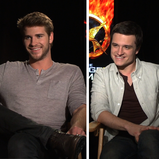 Liam Hemsworth and Josh Hutcherson Interview (Video)