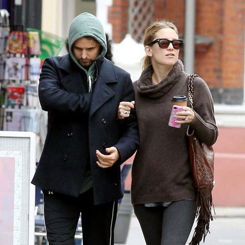 Kate Hudson and Matt Bellamy Pictures on London Walk