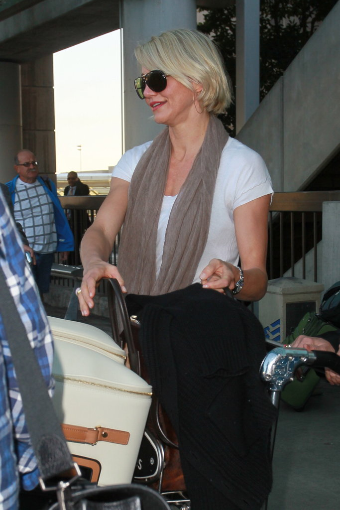 Cameron Diaz at LAX.