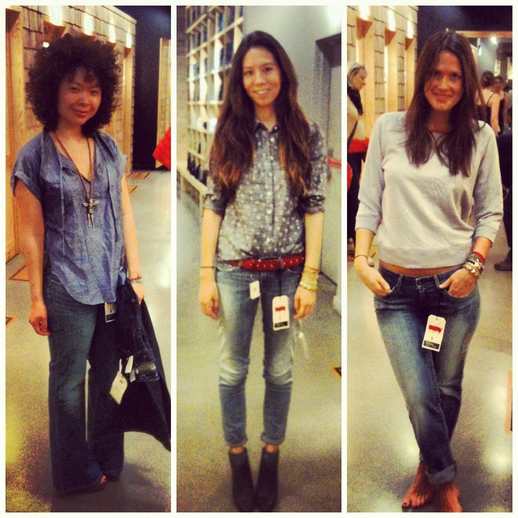 We styled up three takes on Levi's Curve denim ahead of our event next Wednesday March 14 — are you coming, NYC?