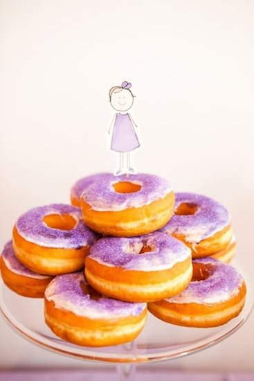 Tower of Doughnuts