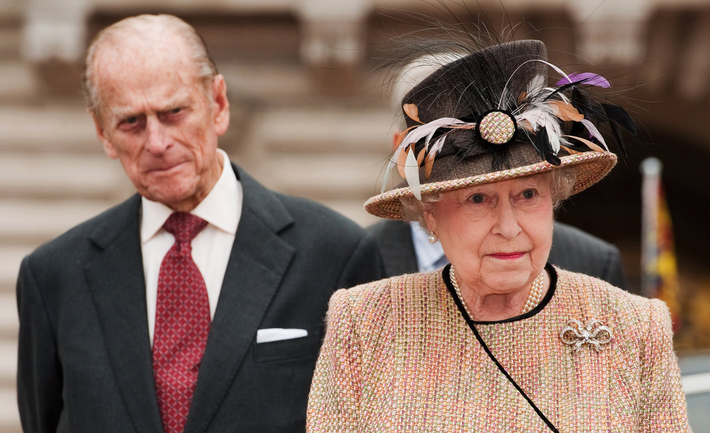 Queen Elizabeth and Prince Philip arrived at the central gates of Buckingham Palace on Feb. 29. As part of the Diamond Jubilee celebrations, Queen Elizabeth and Prince Philip unveiled the first commemorative Jubilee Greenway Disc, a walking and cycling route linking the West End of London with the East End.