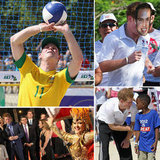 Prince Harry Takes Brazil by Storm — With Masks of His Older Brother, William!