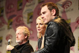 Michael Fassbender and Charlize Theron at WonderCon.