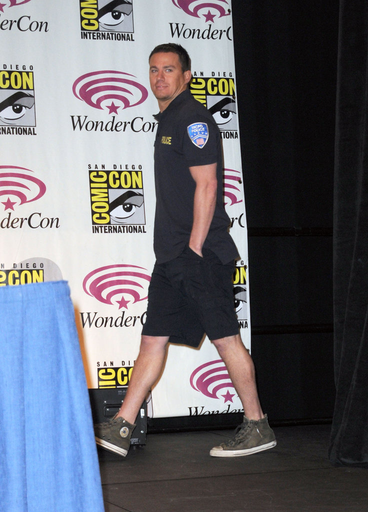Channing Tatum at WonderCon.