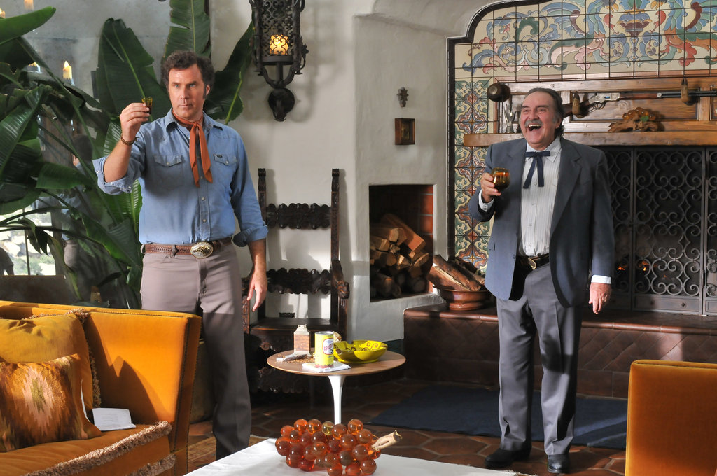 Pedro Armendáriz Jr. and Will Ferrell in Casa de mi Padre. Photo courtesy of Lionsgate