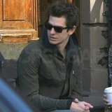 Andrew Garfield hung out in NYC.