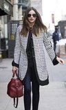 Miranda Kerr walks in NYC.