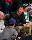David Beckham laughed at the Lakers.