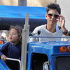 Halle Berry and Nahla at Knott&#039;s Berry Farm Pictures