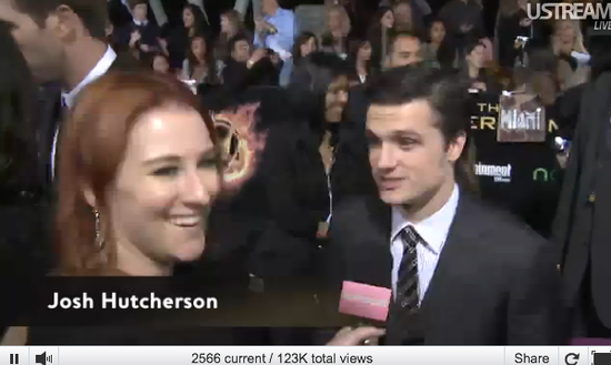 Watch The Hunger Games Red Carpet LIVE Now!