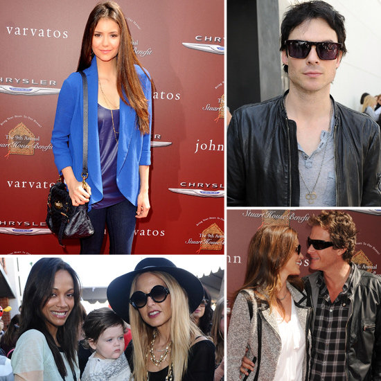 Nina Dobrev, Ian Somerhalder, and Rachel Zoe Step Out For a Charitable Cause
