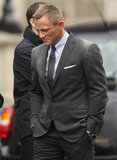 Daniel Craig suited up for Skyfall.