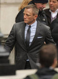 Daniel Craig filmed Skyfall in London.