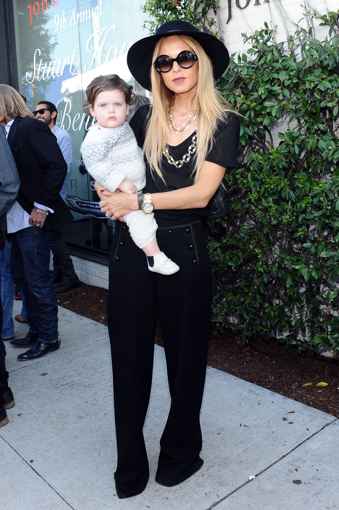 Rachel Zoe and Skyler Berman were too cute.