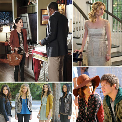 Best Fashion Moments from TV Shows Gossip Girl, Hart of Dixie, Pan Am, Revenge and Pretty Little Liars