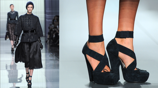 Hot Shoe Alert! Ankle-Strap Heels a Huge Trend at Paris Fashion Week