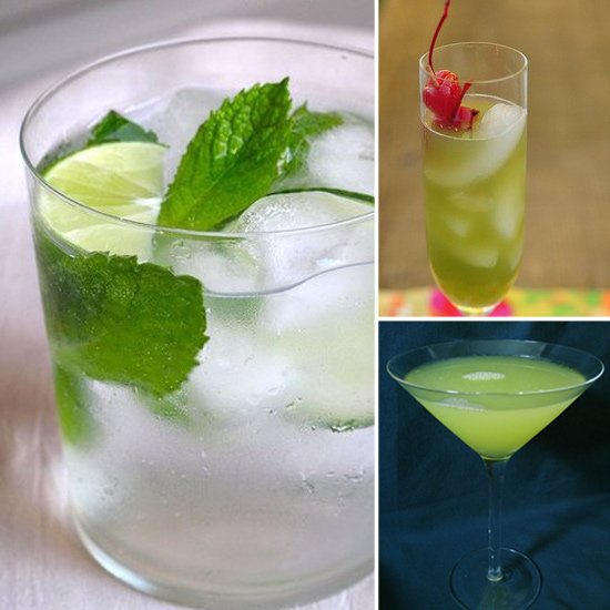 Green cocktail recipes popsugar food for Green alcoholic drinks recipes