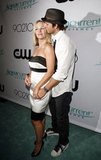 Peter Facinelli and Jennie Garth shared a sweet kiss at the CW Network's 90210 LA premiere party in Aug. 2008.