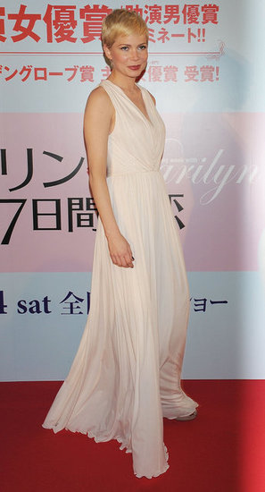 Michelle Williams Takes My Week With Marilyn to Japan