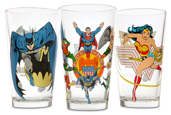 DC Comics Pint Glass ($10)