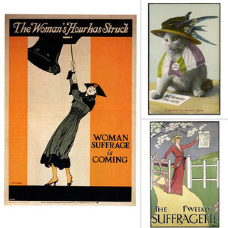 Suffragette Art