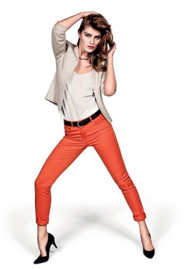 COLORED PANTS FOR WORK OFFICE CLOTHING MODERN CORPORATE