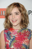 Kiernan Shipka attended the Mad Men PaleyFest panel.