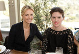 Charlize Theron Celebrates Her Adoption News at a Fashionable Lunch With Katie and Zoe