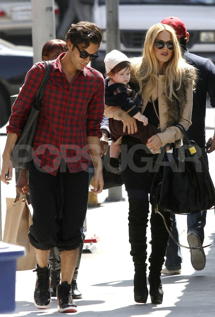 Rachel Zoe and Skyler Berman with Joey Maalouf.