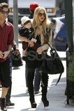 Rachel Zoe and Skyler Berman left an LA lunch.