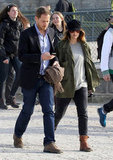 Drew Barrymore and Will Kopelman out in Paris.