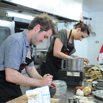 Interview With My Kitchen Rules 2012 Contestants Thomas and Carla