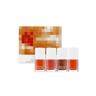 Sephora and Pantone's New Tangerine Tango Makeup Collection