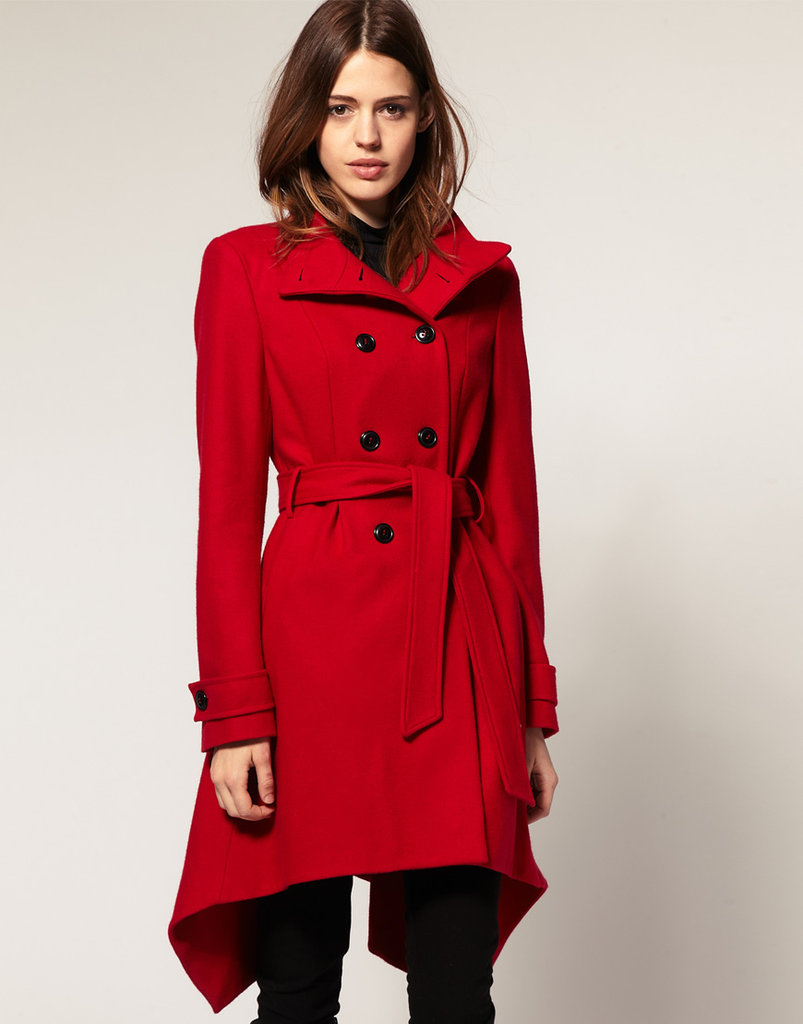 ASOS fit And flare coat ($86, originally $170)