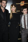 Jennifer Lawrence Strikes a Pose in Paris With Liam, Elizabeth, and Josh